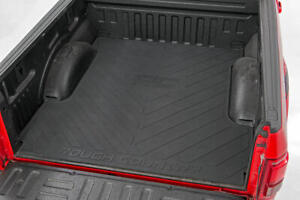 Rough Country Rubber Bed Mat (fits) 2015-2020 Ford F150 | 5.5 FT Bed