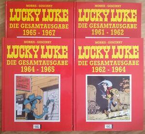 LUCKY LUKE Die Gesamtausgabe 1961-1967 (4 Bücher) 1. Aufl. Ungelesen!