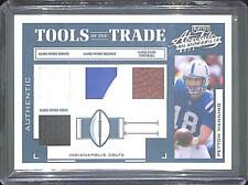 2004 Playoff Absolute Tools of the Trade Quad Relic #TT-67 Peyton Manning 13/25