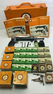 Ramset Powder Actuated Nailing Gun / Fastening Systems W / Case Pins Charges