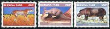 """BURKINA FASO 1998 MNH - """" WILD FAUNA """"- 3 VAL."""