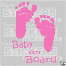 BABY ON BOARD DECAL 150x210mm Capt'n Skullys Stickers Online MPN 1112 M/purpose