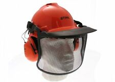 Genuine Stihl Birch Helmet Set with Ear Defenders and Anti-Dazzle Visor