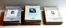DuPont CAVALCADE Of AMERICA Radio Program 1935-53 Advertising Folders Collection