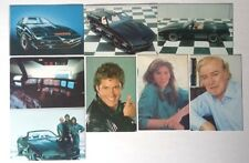 KNIGHT-RIDER--K.I.T.T-DAVID HASSELHOFF-Complete Collection Calendars  1987