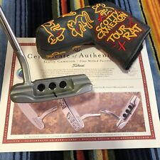 2018 Scotty Cameron TOUR RAT Welded 1.5 Flow Neck SSS 009 Masterful M CIRCLE T