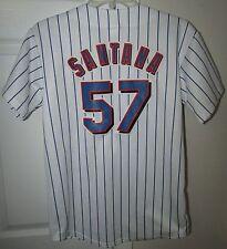 MLB New York Mets Johan Santana #57 Replica Jersey by Majestic Size Youth Large