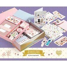 *DJECO*Geschenkbox*45tlg*Papeterie*Tinou box*gefüllt Karten*Stickern.....