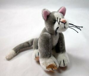 "World of Miniature Bears By Theresa Yang 3"" Plush Cat What Bird #1005 CLOSING"