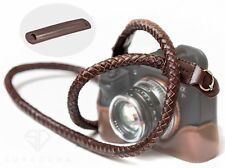 Supadupa Braided Leather Camera Strap - Sony Fujifilm Panasonic Olympus A7 X-t3