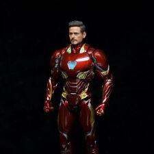 1/12 Iron Man Tony MK50 Head Sculpt 6'' Figure Robert Downey Head Toy No Body