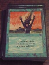 MTG Magic VOL 3rd French Black RARE top condition