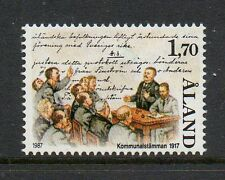 Aland 1987 70th Anniv Aland Municipalities meeting SG29 unmounted mint stamp