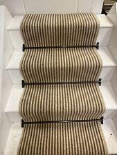 LOOP / BERBER CARPET STAIR RUNNER 100% WOOL, 13 STEPS, 60 WIDE, HARDWEARING