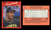 Barry Bonds 1990 Donruss Baseball Card