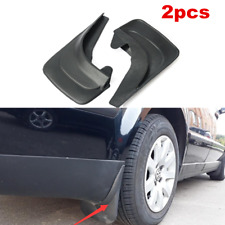 For Car Vans Mud Flaps Black ABS Mud Guards Splash Guards Molded 2 pcs Rear