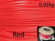 3 dplastx 1.75mm./300m./0.92kg. 3D Impresora Filamento ABS Con Carrete, Rojo
