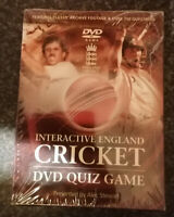 Interactive England Cricket Quiz DVD, Supplied by Gaming Squad (2007)