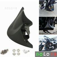 Front Chin Spoiler Air Dam Fairing Mounting Kit for Harley Dyna FXD 2006-2017