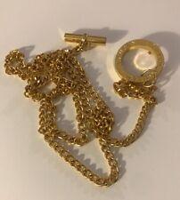 Lauren By Ralph Lauren Goldplated Chain Link Belt Skinny Adjustable