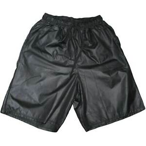 Pantaloncino uomo art. AVANA 098 monocromatico nero in tessuto semilucido opaciz