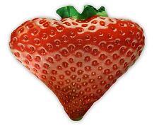 Cheeky Baldrick Realistic HD Strawberry Cushion Novelty Gift Idea Fun New