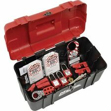 Master Lock Personal Safety Lockout Kit, Electrical Focus, Keyed Alike, 1457e.