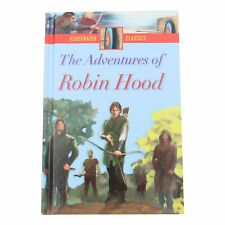 Illustrato Classici Copertina Rigida per Bambini Storia Libro - Robin Hood