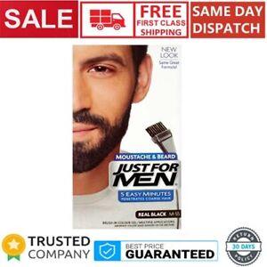 Just For Men Moustache & Beard M-55 Real Black