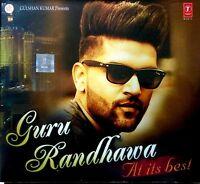 PUNJABI HITS GURU RANDHAWA AT ITS BEST  OFFICIAL ORIGNANORMAL AUDIO CD - LAHORE
