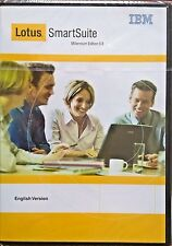 New LOTUS 1-2-3 SMARTSUITE 9.8 Organizer Approach Word Pro Windows XP 7 8 10