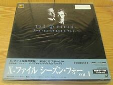X-FILES LASERDISC BOX SET 4th SEASON Vol 1  BRAND NEW & FACTORY SEALED