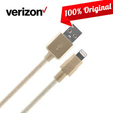 OEM Verizon Verizon Braided Lightning Charge Data Sync Cable for iPhone 7 6s 6 5