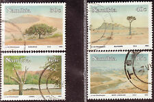 NAMIBIA 1993 UNMATCHED BEAUTY OF NAMIB DESERT COMPLETE POSTALLY USED SET 1694