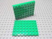 Lego 3 Platten flach in grün 6x8 3036 Set 7998 7936 7634 4840