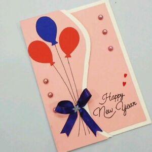 New year greetingcard Handmade Card