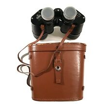 New listing Vintage Palomar 7X50 Binoculars With Leather Strap and Case In Good Condition