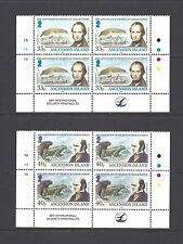 ASCENSION 2009 SG 1056/9 MNH Blocks of 4 Cat £48