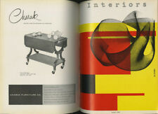 1954 Bruno Munari INTERIORS 4-Vol. BOUND Set Ettore Sottsass GOOD DESIGN Nelson