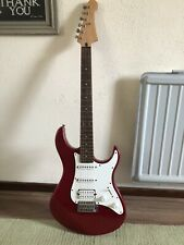 ICherry Red Yamaha Electric Guitar