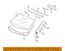 Acura HONDA OEM 09-14 TSX Windshield-Side Molding Clip Left 73163TL0E01