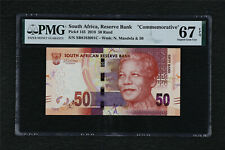 "2018 South Africa Reserve Bank ""Commemorative"" 50 Rand Pick#145 PMG 67 EPQ UNC"