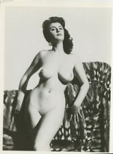 "Eve Eden  By Harrison Marks   6"" x 4""  1950 Original Nude Pinup Photo  B8037"