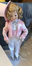 """Danbury Mint Shirley Temple Collector Doll The Little Colonel Outfit & Box 17"""""""