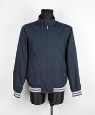 Carhartt Men Dark Blue Bomber Jacket Size L, Genuine