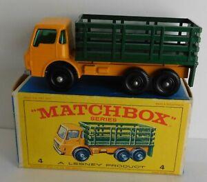 Matchbox Moko Lesney Cars, Regular Wheels, 4d Dodge Stake Truck