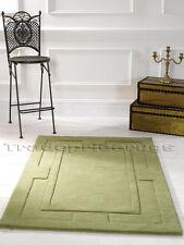 Flair Rugs Sierra Apollo Wool Rug Green W75 Cm X L150 Cm