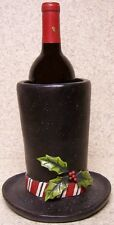 Wine Bottle Holder and/or Decorative Sculpture Top Hat NEW
