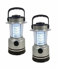 2pc Lantern 12 LED Camping Emergency Power Outage Battery Operated Lantern