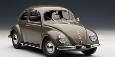 Autoart VOLKSWAGEN BEETLE KAEFER LIMOUSINE 1955 POLARISSILVER 1/18 Scale In Stk.